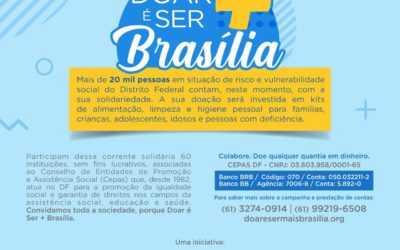 Prestações de Contas Campanha Doar é Ser + Brasília
