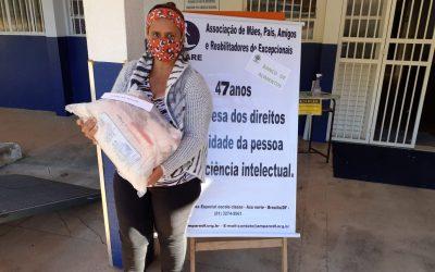 Prestação de Contas Campanha Doar é Ser + Brasília/ Entrega das Cestas